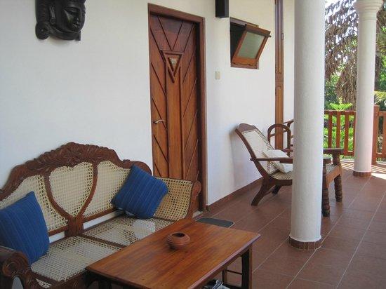 Unawatuna Nor Lanka Hotel: Esterno camera