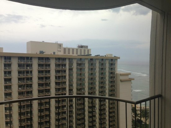 Waikiki Beach Marriott Resort & Spa: Premium Ocean View from K tower 23rd floor
