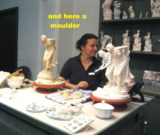 Porzellan-Manufaktur Meissen: moulder of figures