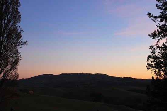 Vicarello Di Volterra: Volterra dall'appartamento