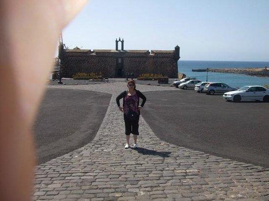 Arrecife, España: entrada castillo