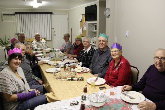 Lakeview Motel & Suites: Snowbird christmas dinner