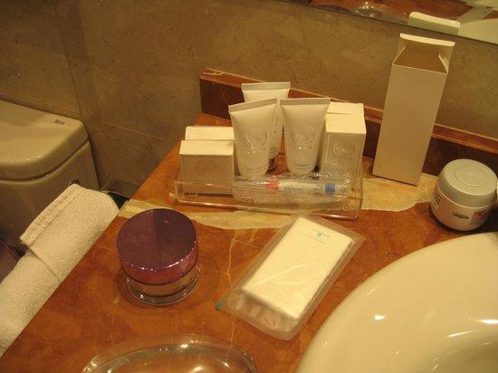 Hotel Atlantico: productos de aseo