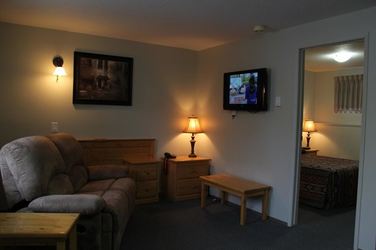 Lakeview Motel & Suites: standard one bedroom suite