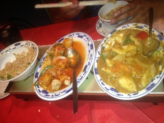 Shanghai Express : yum yum yum.
