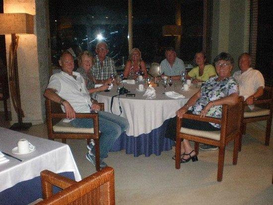 Catalonia Royal Bavaro: Last night dinner at Thalassa with our UK friends