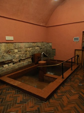 Rudas Baths: Pool with cold water