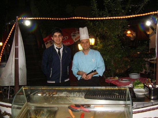 Oscar Boutique Hotel: Chef & Reception