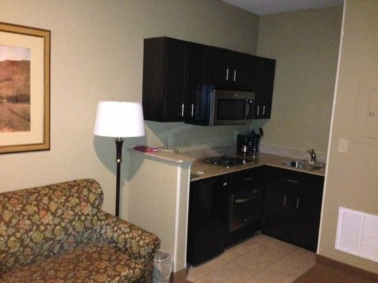 The English Inn of Charlottesville: Mews suite kitchenette area