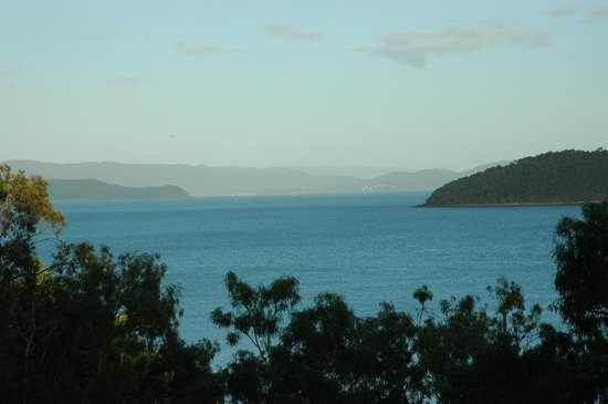 Qualia Resort: View from room