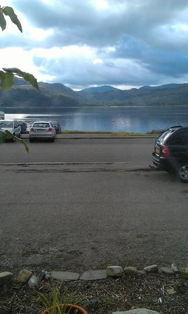 Lochcarron Hotel: View From My Room