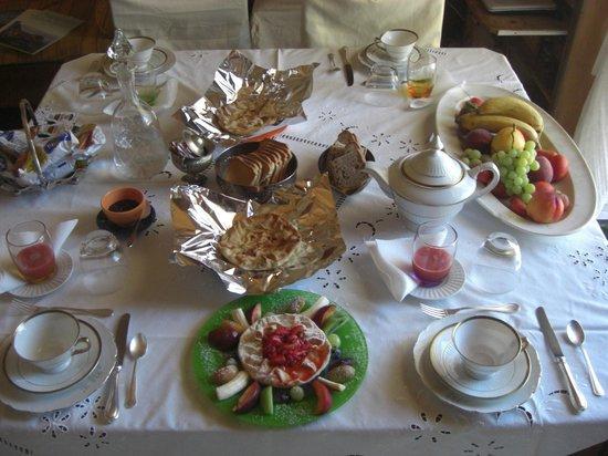 The House of the Sea Cat: colazione