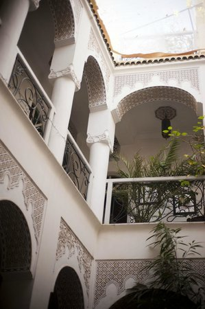Riad Dollar Des Sables : view from the breakfast table
