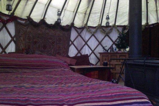 Larkhill Tipis and Yurts: The Brentwood Yurt