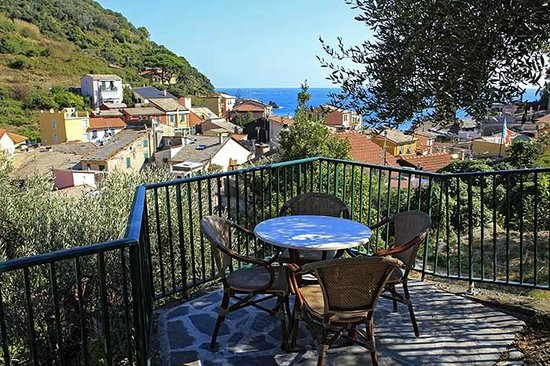 Hotel Villa Steno: Our private terrace