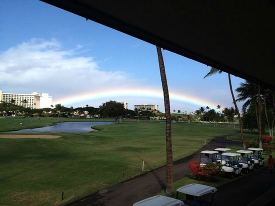 Kaanapali Kai Course at Kaanapali Golf Resort: View from the clubhouse