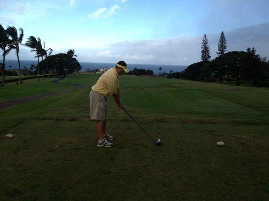 Kaanapali Kai Course at Kaanapali Golf Resort: #9 Tee