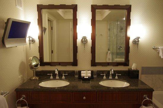 Caesars Palace: salle de bain