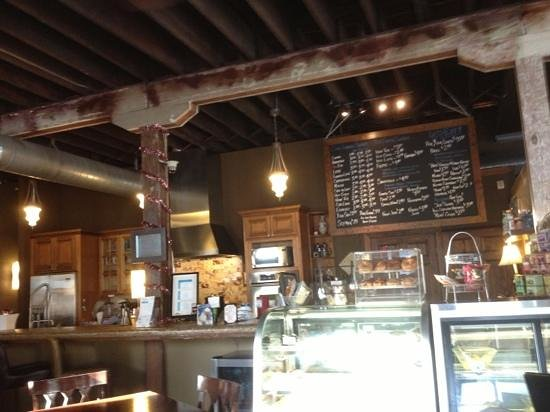 Three Layers Cafe and Coffeehouse: order here!