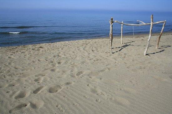 Il Duchesco: La spiaggia di Marina di Alberese