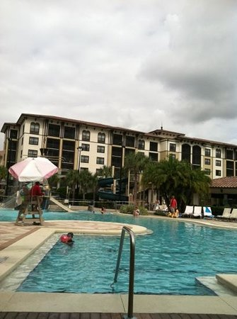 Sheraton Vistana Villages - International Drive: St. Augustine pool.