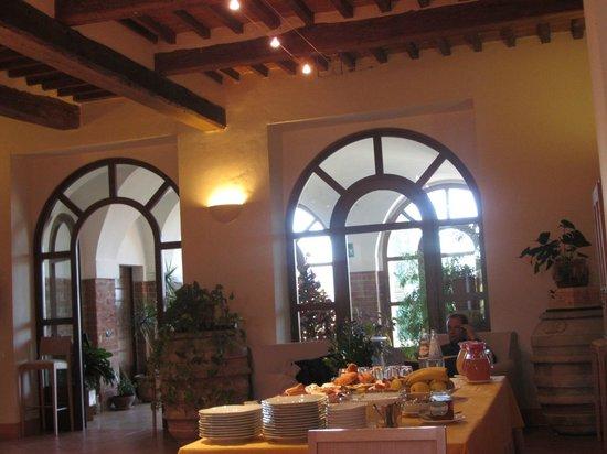 Relais Villa Grazianella - Fattoria del Cerro: La sala ristorante