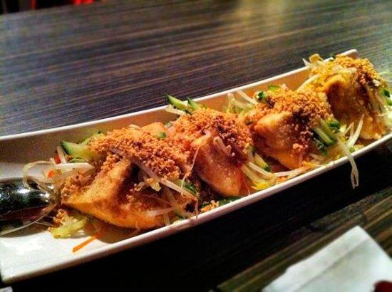 Kaya Malay Bistro: Fried Stuffed Tofu - Excellent