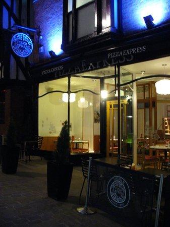 Pizza Express Von Außen High Street Picture Of Pizza