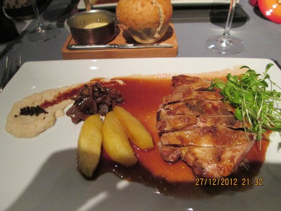 Restaurant Valentijn: pheasant