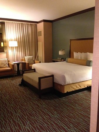 Harrah's Resort Atlantic City: Marina Tower room