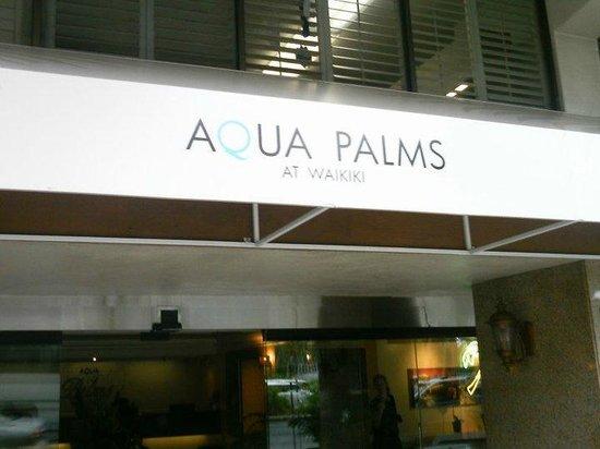 Aqua Palms Waikiki: nice