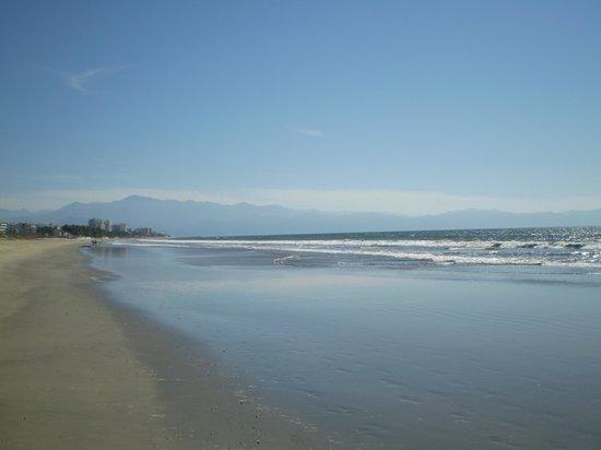 Nuevo Vallarta Beach: Beach Area