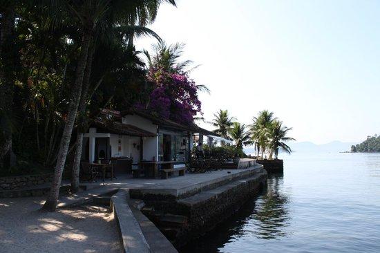 Pousada Jamanta: área da pousada