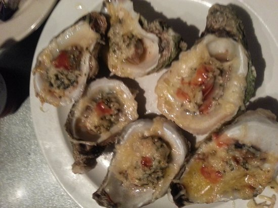 The French Market and Tavern: oysters