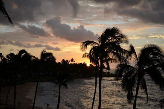 Sheraton Kauai Resort: sunrise