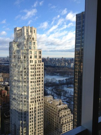 Mandarin Oriental, New York: The view of Central Park from the 49th floor
