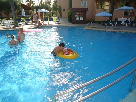 Protur Bonaire Aparthotel: river pool