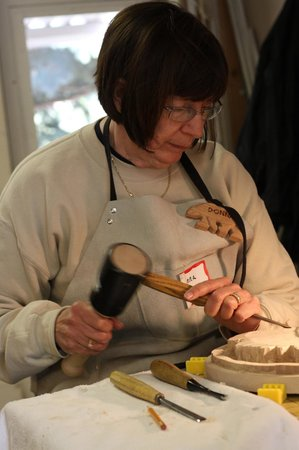 "Glacier Park Bed and Breakfast: ""B&B'er plus carving workshop student"