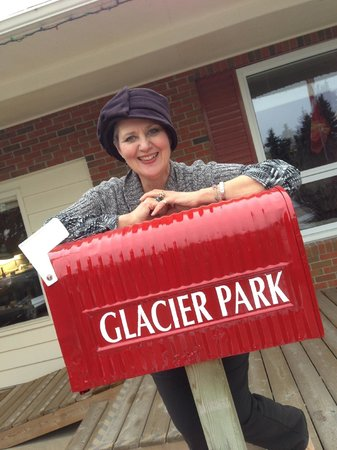 "Glacier Park Bed and Breakfast: Look for the ""sign"""