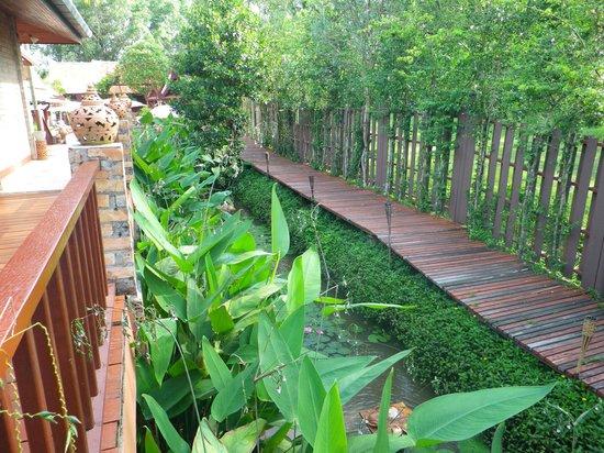 Seapines Villa Liberg: jardin