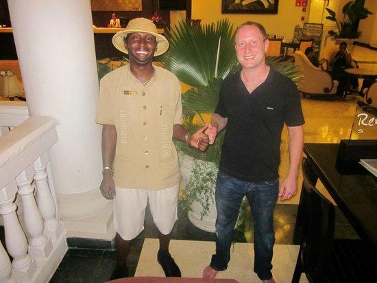 Grand Palladium Jamaica Resort & Spa: me and dain