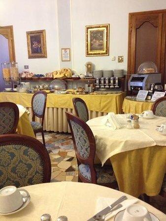Silla Hotel: colazione