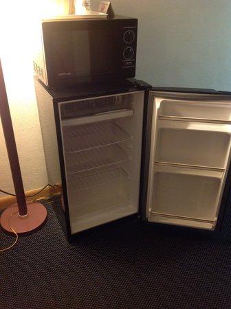 Days Inn Effingham : Fridge and Microwave