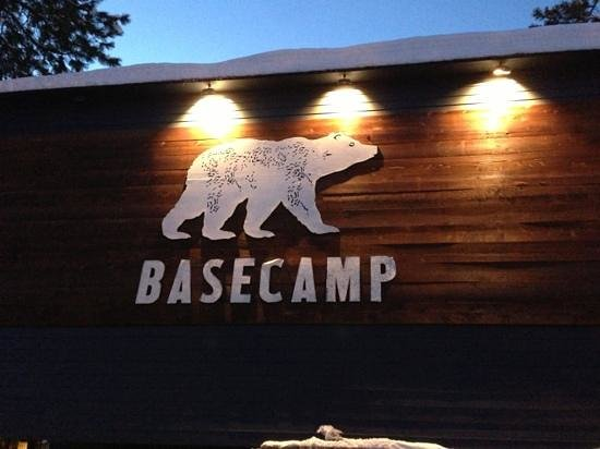 Basecamp South Lake Tahoe: big signage.