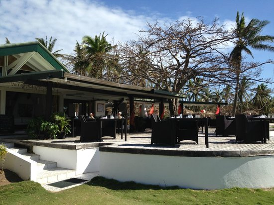 Lomani Island Resort: Restaurant
