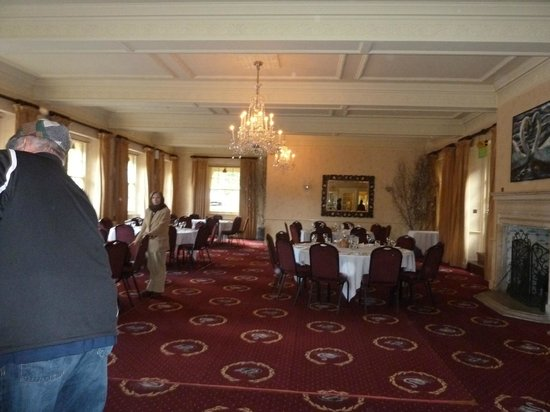 The Swan Hotel: Hotel dining room