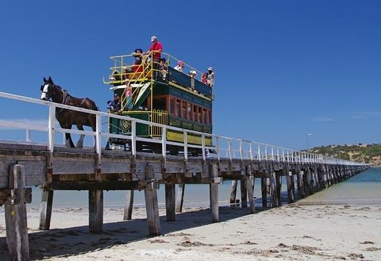 ‪Victor Harbor Horse Drawn Tram‬