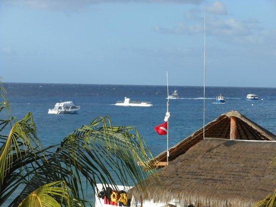El Cid La Ceiba Beach Hotel: View from the balcony