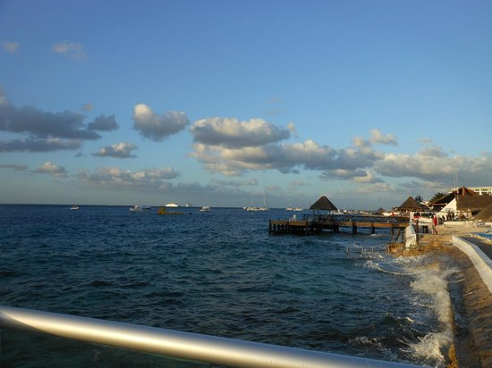 El Cid La Ceiba Beach Hotel: View from the restaurant