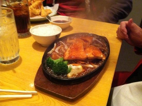 Toyama Japanese Restaurant : Salmon Dinner